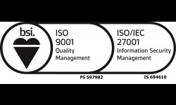 ISO/IEC 27001:2013 Information Security Accreditation.