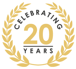 20 years of service in the telecoms industry